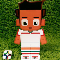 Iran football soccer craft activity. Printable paper toy. Instant download. Make you own cards, banners and football soccer bunting!