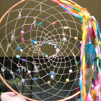 ON SALE Large Dreamcatcher with plenty of room for your personalization, I will add your fondest desires,ideas