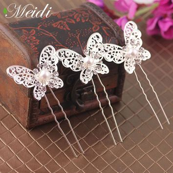 Butterfly Wedding Hair Clip Headband Hair Hairpins Tiaras Butterflies