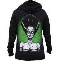 WOMEN'S DEAD BRIDE HOODIE BY LOWBROW ART COMPANY