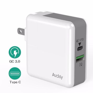 Quick Fast Wall Charger Wofalo 29W Two Port USB