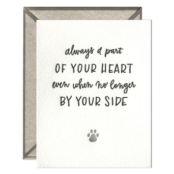 INK MEETS PAPER - Pet Sympathy - greeting card