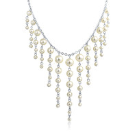 Bling Jewelry Statement in Pearls