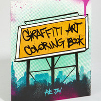 fredflare.com | 877-798-2807 | Graffiti Art Coloring Book