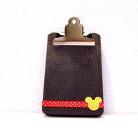 Fish Extender Gift - Mickey Party Favor - Disney Cruise Gift - Mickey Clipboard - Mickey Birthday Favor - Disney Party Favor