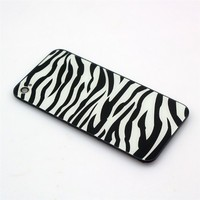 [Aftermarket Product] White zebra Replacement Battery Cover Back Housing Full Rear back glass inclu