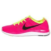 Nike Women's Nike Flyknit One Pink / Yellow / Black 554888-606 size8.5