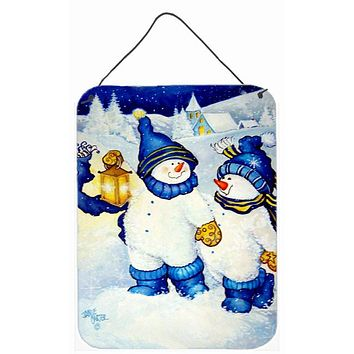 Follow Me Snowman Wall or Door Hanging Prints PJC1009DS1216