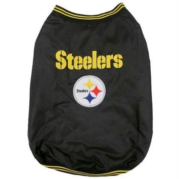 auguau Pittsburgh Steelers Pet Sideline Jacket