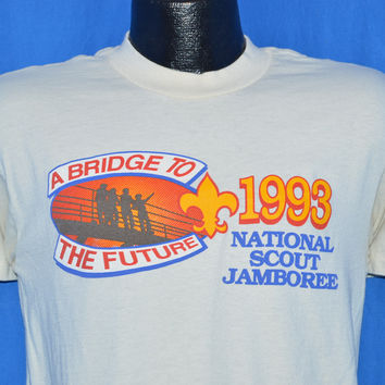 90s National Scout Jamboree 1993 Boy Scouts t-shirt Medium