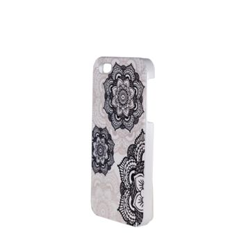CLEARANCE - myTAT Custom White Phone Case - Henna Mandala - iPhone 5/5s/SE ONLY