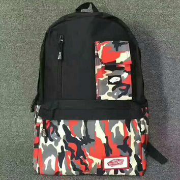 VANS Camouflage Trending Fashion Sport Laptop Bag Shoulder School Bag Backpack G-JJ-MYZDL-1