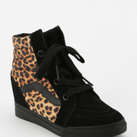 Urban Outfitters - Vans SK8 Animal Print Hidden Wedge High-Top Women's Sneaker