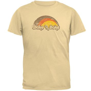 Wake 'N Bake Vintage 70's Mens T Shirt