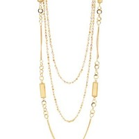 Bead & Chain Layering Necklaces - 2 Pack