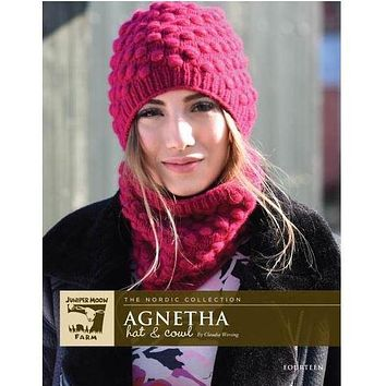 Juniper Moon Farm Fourteen Agnetha Hat & Cowl Kit