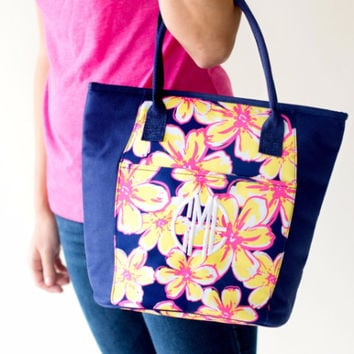 Drink In My Hand - Floral Cooler Tote | Driftwood Market