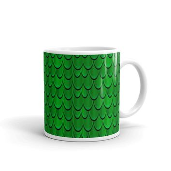 Halloween Dragon Scales Mug