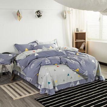 Svetanya Cotton Bedlinen Printing Boys Bedding Sets Quilt Cover Set Full Queen King Size for Kids Teens Adults
