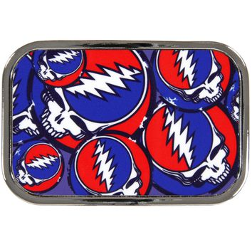 Grateful Dead - Steal Your Face Stacked Belt Buckle
