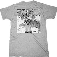Beatles Revolver Grey Shirt -- Size Small