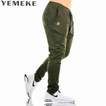 Pants Casual Sweatpants Solid Fashion high street Trousers Pants Men Joggers high quality plaid pants
