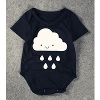 Baby Boy Infant Body Cartoon Baby Boy Bodysuits Panda Baby Clothing Cotton Todder Bodysuit