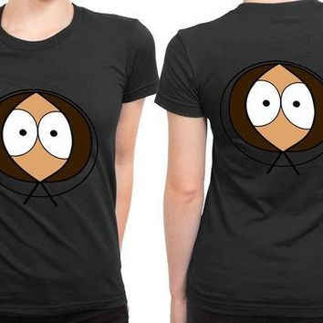 MDIGGW7 South Park Kenny 2 Sided Womens T Shirt