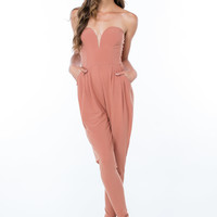 Hey Sweetheart Pleated Jumpsuit GoJane.com