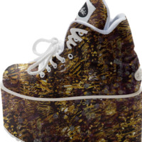 ZEPHAN ANIMALIA Platform Shoes created by Webgrrl | Print All Over Me
