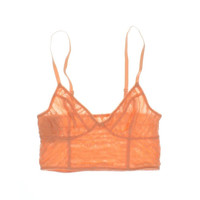 Free People Womens   Lace Cropped Bralette