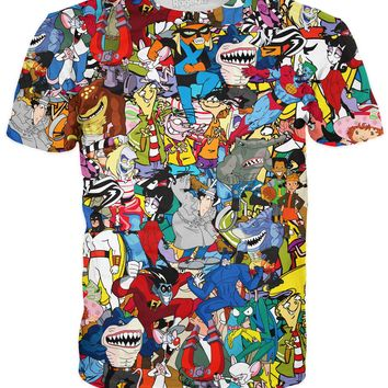 Extreme 90s Collage T-Shirt