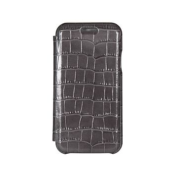 Gray Mock Gator iPhone Xs Max Case