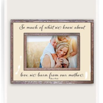 So Much Of What We Know Copper & Glass Photo Frame