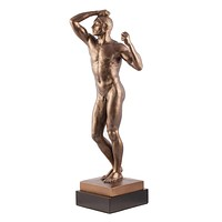 Age of Bronze Male Nude Standing Statue by Rodin 20.5H