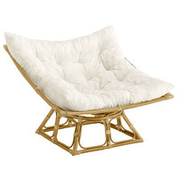 Squareasan Chair Frame - Natural