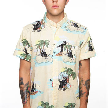 JOHN RYAN HAWAIIAN BUTTON UP