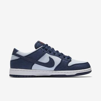 spbest NIKE SB DUNK LOW PRO - BINARY BLUE/HYDROGEN BLUE/DARK TEAM RED/BINARY BLUE