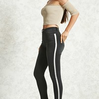 Contemporary Striped Jeans