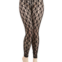 ModCloth Boudoir Layer of Luxe Leggings
