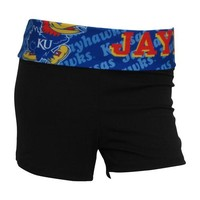 University of Kansas Jayhawks Cameo Ladies Shorts