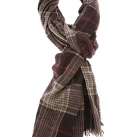 Brunello Cucinelli check scarf