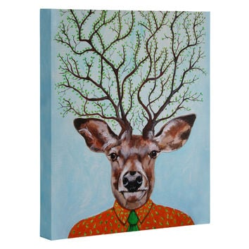 Coco de Paris Tree Deer Art Canvas