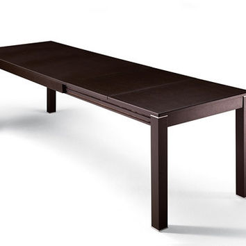 T500 Domino Legno Extendable Table by Ozzio (130)