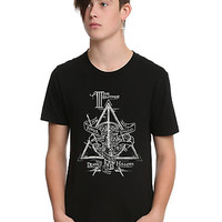 Harry Potter Deathly Hallows Symbol T-Shirt