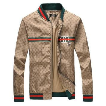 GUCCI Woman Men Fashion Cardigan Jacket Coat