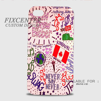 Justin Bieber Collage Art 3D Cases for iPhone 4,4S, iPhone 5,5S, iPhone 5C, iPhone 6, iPhone 6 Plus, iPod 4, iPod 5, Samsung Galaxy Note 4, Galaxy S3, Galaxy S4, Galaxy S5, BlackBerry Z10 phone case design
