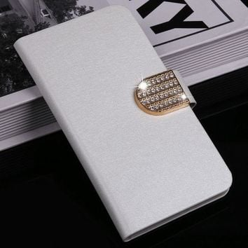 ESBONHS Luxury Flip leather Case For Samsung Galaxy Core i8262 i8260 Leather case cover ,free shipping