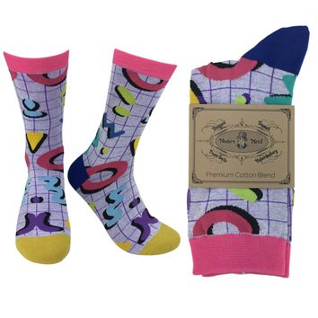 Mens Cool Colorful Novelty Funky Fun Cotton Fashion Socks  Collection-Single Pairs
