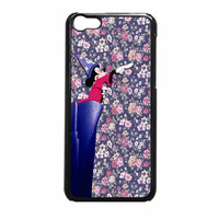 Mickey Mouse The Wizard Floral Vintage iPhone 5c Case